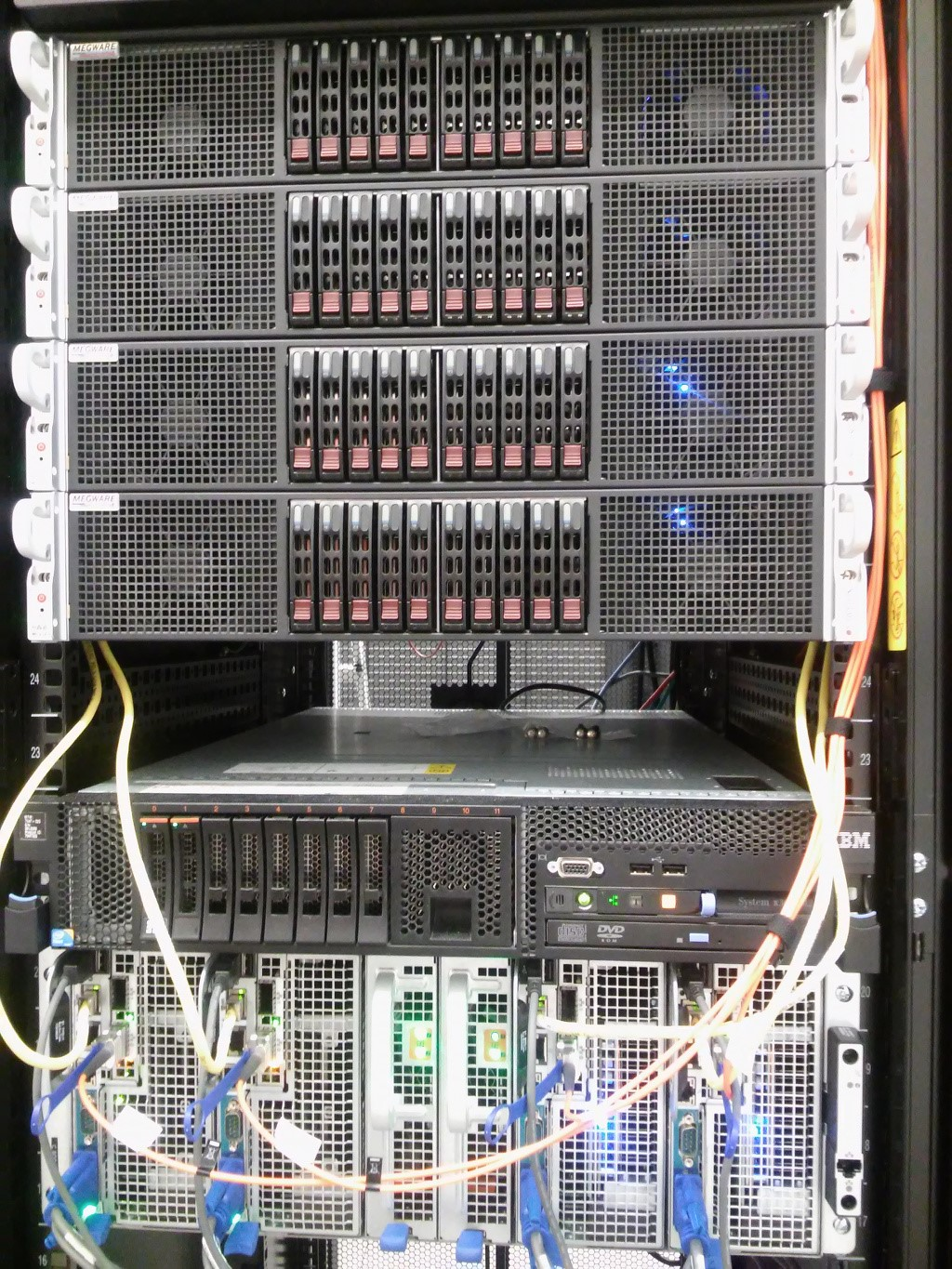 castorc facilities cluster intel xeon