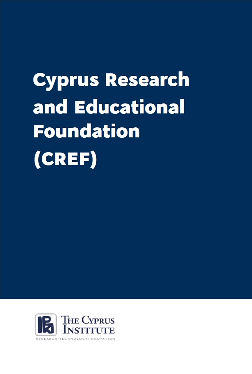 Cyprus Research Educational Foundation Leaflet Page 1