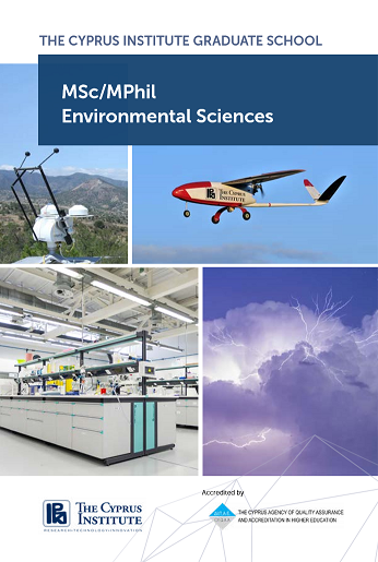 Flyer - Master's in Environmental Science