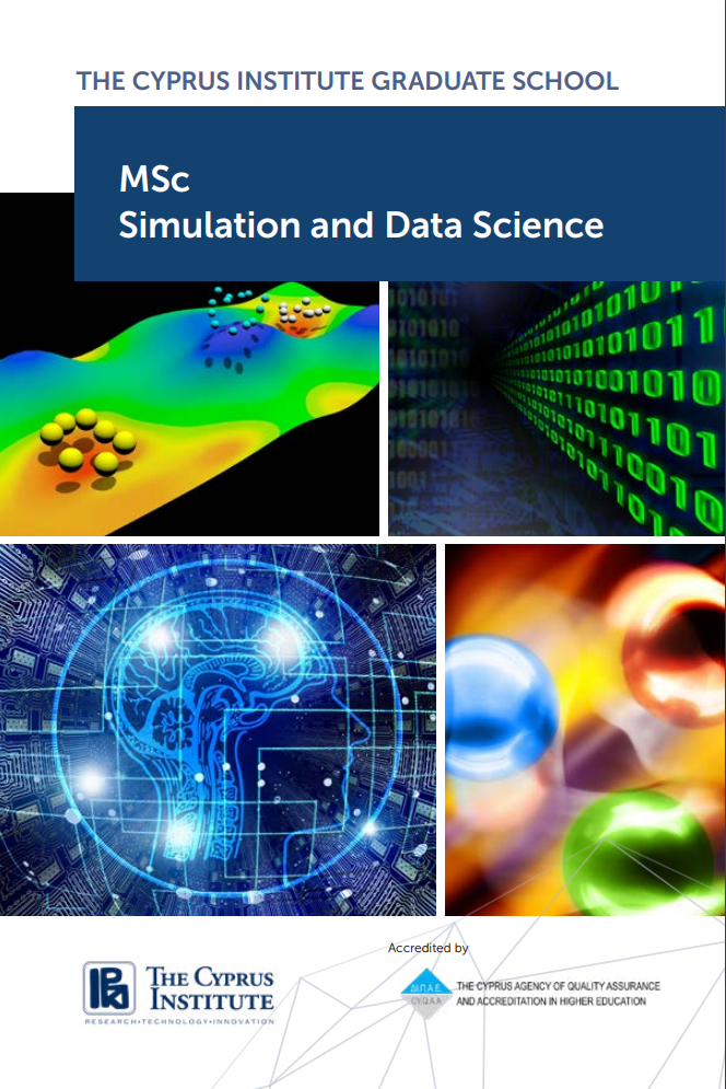Flyer - Master's in Simulation and Data Science