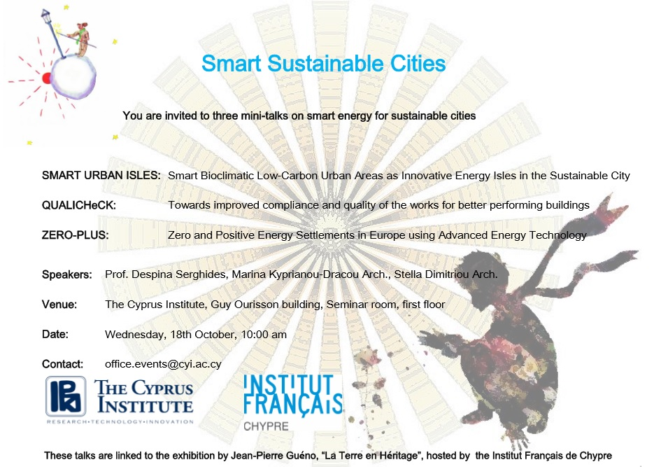 smart sustainable cities invite poster