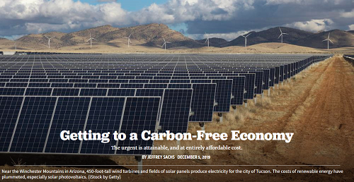 Getting to a Free Carbon Economy