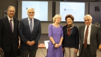 The Italian Minister of Education, University and Research, Senator Prof. Stefania Giannini visits CyI