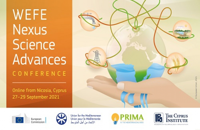 Conference on Water-Energy-Food-Ecosystems Nexus Scientific Advances in the Mediterranean Region