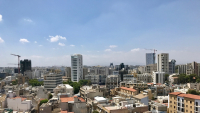 Photo: The Nicosia skyline during lockdown