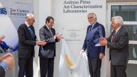 Inauguration of the Andreas Pittas Art Characterization Laboratories by the President of the Republic