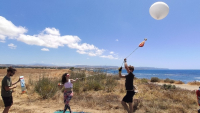 Photo: Launch of AirCore on the west coast of Cyprus