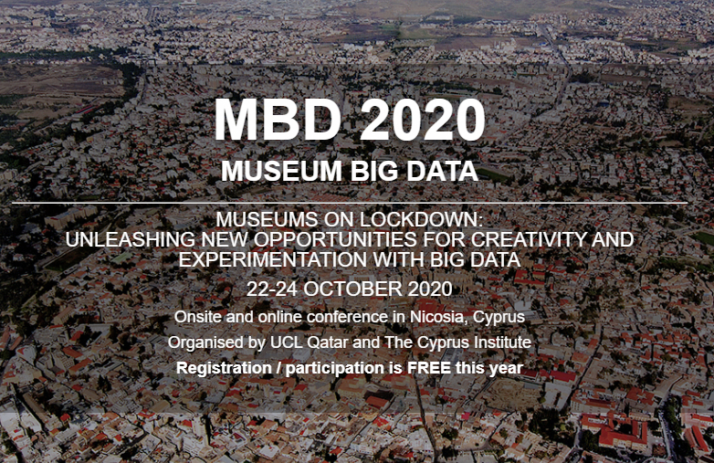 MBD 2020 - 2nd International Conference on Museum Big Data