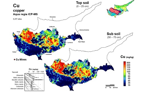 Colloquium: Anthropogenic Versus Lithological Influences on Soil Geochemical Patterns in Cyprus