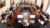 Photo: Cabinet meeting (archive photo)