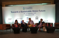 The Future Earth MENA Regional Center at the Water Futures Conference, Bengaluru, India, September 2019