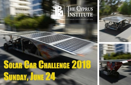 The Cyprus Institute Solar Car Challenge 2018