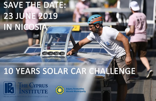 The Cyprus Institute Solar Car Challenge 2019