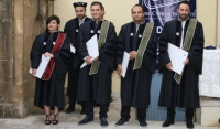 First Graduation Ceremony of Doctoral Students