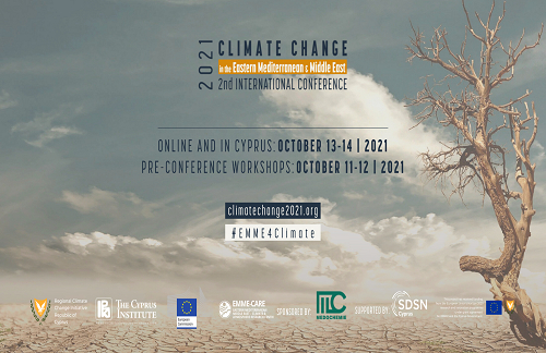 2nd International Conference on Climate Change in the Mediterranean and the Middle East: Challenges and Solutions
