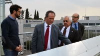 Presidential Candidate Dr. Stavros Malas Visits The Cyprus Institute