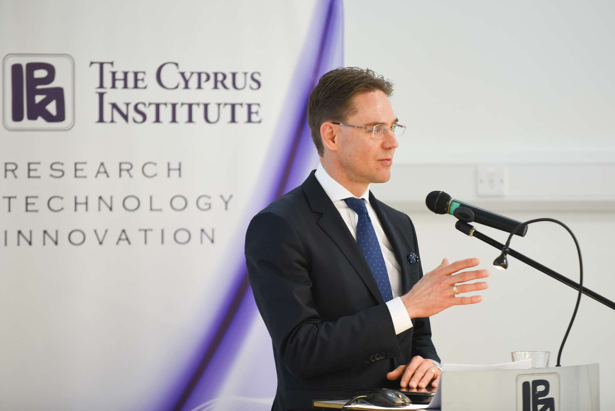 Mr. Jyrki Katainen, Vice President for Jobs, Growth, Investment and Competitiveness of the European Commission, visits CyI