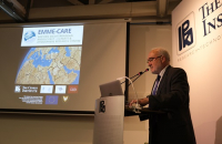 "Dr Michel Jarraud, Secretary-General Emeritus of the World Meteorological Organization, Delivers Public Lecture on ""Climate Change: From Doubt to Evidence – Global and Regional Aspects"""
