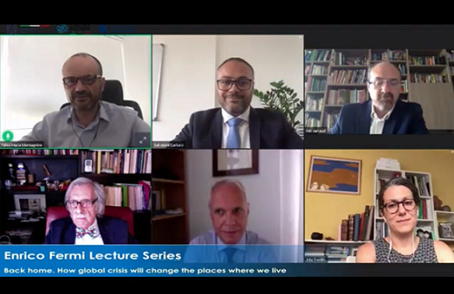 2020 Enrico Fermi Webinar by Prof. Federico M. Butera Focuses on How Global Crisis Will Change the Places Where We Live