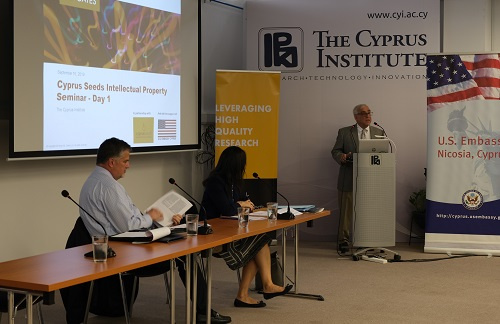 CyI hosts Cyprus Seeds Seminar: