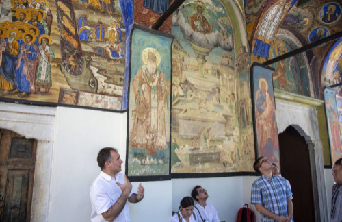"Associate Professor Nikolas Bakirtzis Directs the ""Mount Menoikeion Seminar"" Organized by the Seeger Center in Hellenic Studies of Princeton University"