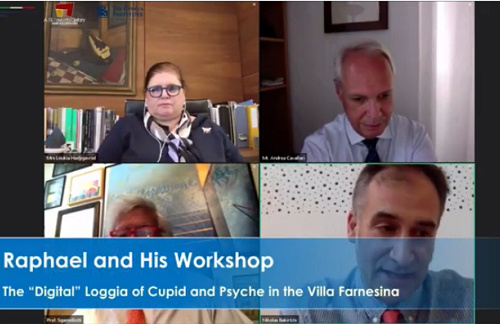 "Prof. Antonio Sgamellotti Delivers ""Raphael and His Workshop"" Webinar"