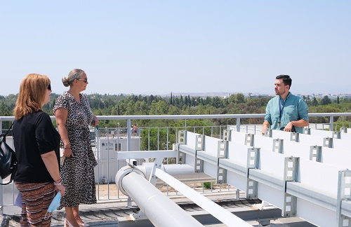 Visit by the Chargé D' Affaires of the Embassy of Hungary in Cyprus