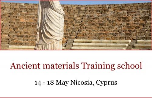 Open SESAME: Ancient Materials Training School