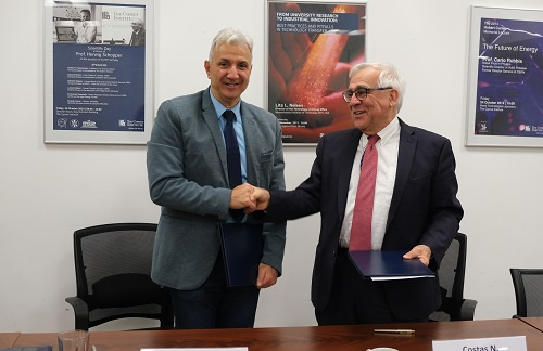 CyI Reinforces its Collaboration with the Cyprus University of Technology (CUT) with Signing of MoU