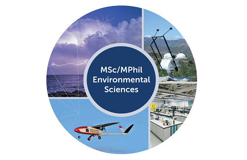 Environmental Sciences MSc/MPhil